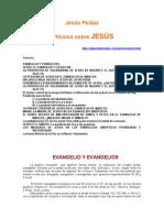Pelaez, Jesus - Articulos Sobre Jesus