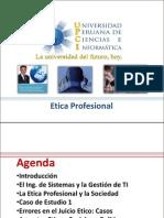 Curso Etica 2012