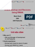 ORACLE RMAN PRESENTATION
