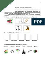 Evaluación grupos consonanticos