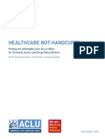 Healthcare Not Handcuffs 12.17