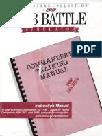 Sub Battle Simulator Instruction Manual