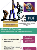 Chapter 13-Conflict and Peacemaking