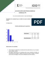 Resultados de la Evaluación de la Segunda Mesa de Intercambio TIC
