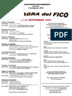33° Sagra del Fico 2009 a Bacchereto (PO)