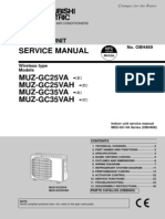 Mitsubishi Service Manual