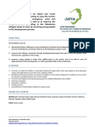 Jafra Foundation activity report December 2013