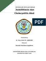 Responsi Cholelithiasis Dan Cholecystitis