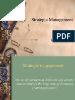 Strategic Management1