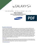Samsung Galaxy s4 Manuel 1