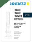Lorentz Pump Manual