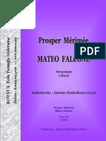Mateo Falcone, berpotam ke Prosper Mérimée