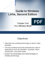 CWNA Guide to Wireless LAN's Second Edition - Chapter 1