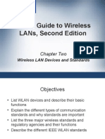 CWNA Guide to Wireless LAN's Second Edition - Chapter 2