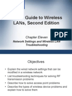CWNA Guide to Wireless LAN's Second Edition - Chapter 11