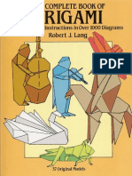 The Complete Book Of Origamipdf