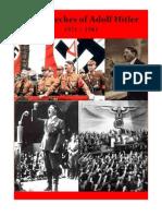 Speeches of Adolf Hitler