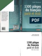 Pièges du Français Parlé et Ecrit