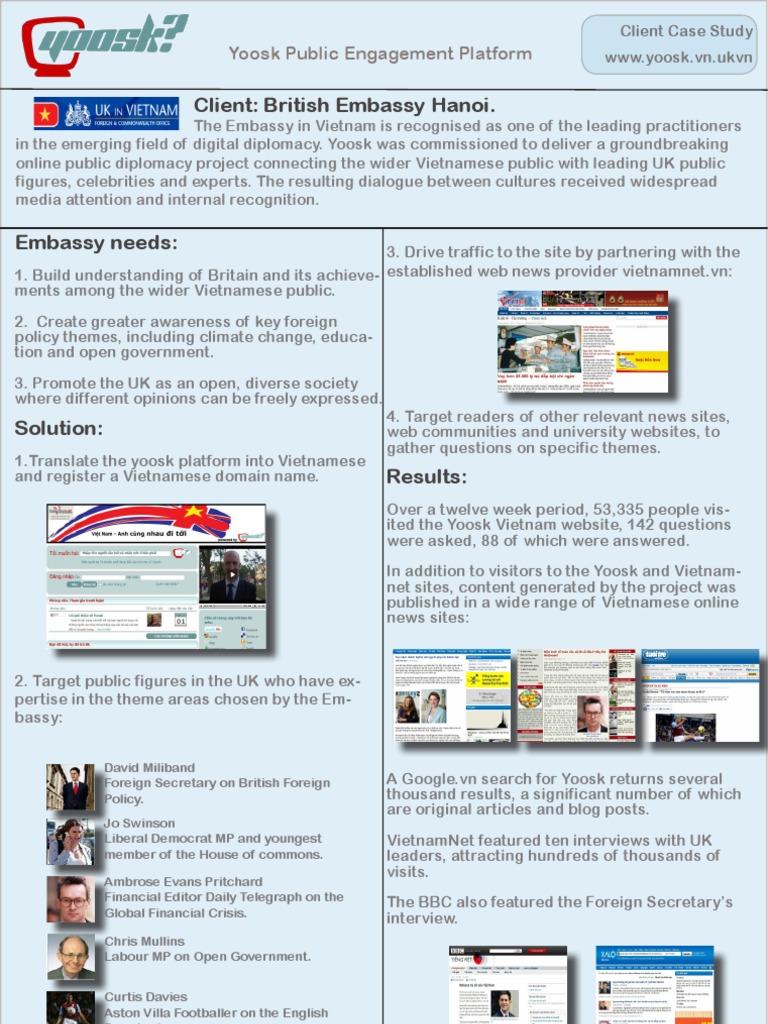 Google uk themes - Digital Diplomacy Creating Intercultural Dialogue Between The Vietnamese Public And Uk Leaders