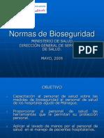 Normas de Bioseguridad MINSA250509