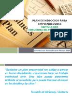Plan de Negocios para Emprendedores_Capítulo Dos