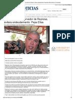 16-12-2013 'Presupuesto conservador de Reynosa, evitara endeudamiento_ Pepe Elías'
