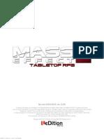 Mass Effect d6 RPG
