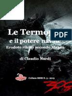 2013 NARDI Le Termopili e Il Potere Navale. Collana SISM N. 3