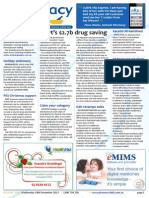 Pharmacy Daily for Wed 18 Dec 2013 - Govt\'s $2.7b drug saving, PBS beats benchmarking?, CHC urges NHMRC on CMs, Health