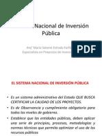 02 Sistema Nacional de Inversión Pública