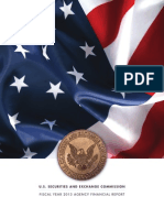 U.S. Securities and Exchange Commission - Fiscal Year 2013 Agency Financial Report