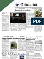 Libertynewsprint 8-29-09 Edition