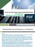 Plan de Negocios para Emprendedores_Capítulo Tres