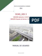 Maunal Del Usuario SCAD_GIS 3.0