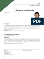 Activador de Teuscher Modificado