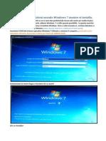 02)Creare Delle Partizioni Usando Windows 7 Mentre Si Installa