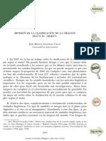 González Calvo, José M. - Revision De La Clasificacion De La Oracion Segun El Modus