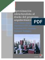 Aproximación estructuralista al diseño del programa arquitectónico