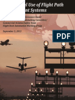 Operational Use of Flight Path Management Systems