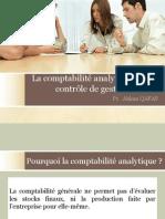 La comptabilité analytique et le contrôle de gestion
