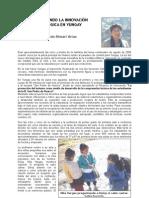 Acompañando la innovación en YUNGAY Wilfredo Rimari