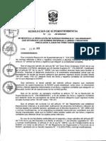 Resolución de Superintendencia Nº 286-2009 SUNAT 2013 ACTUALIZADO