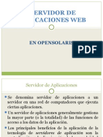 Servidor de Aplicaciones Web