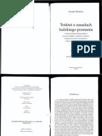 Berkeley - Traktat o Zasadach Ludzkiego Poznania Cz1