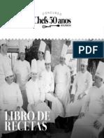 Livro 50 anos Chef - ESP
