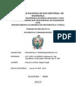 estadística descriptiva ejercicios resueltos_UNSCH
