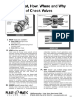 check valve primer