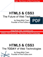 HTML5 CSS3 Javascript the Future of Web Technology