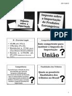 Aula 5 - 10.2013 - Imposto de Importação [Modo de Compatibilidade]