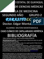 CASO CLÍNICO DE CAPILARIASIS HEPÁTICA